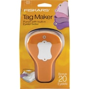 "Fiskars® Tag Maker Punch, Label, 4.1"" x 3.4"" x 7.4"""