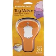 """Fiskars® Tag Maker Punch, Label, 4.1"""" x 3.4"""" x 7.4"""""""