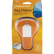 "Fiskars® Tag Maker Punch, Simple, 4.1"" x 3.4"" x 7.4"""