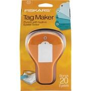 """Fiskars® Tag Maker Punch, Standard, 4.1"""" x 3.4"""" x 7.4"""""""