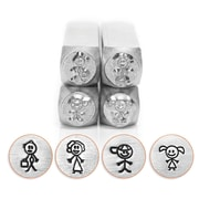 ImpressArt® Design Stamp Pack, Stick Family