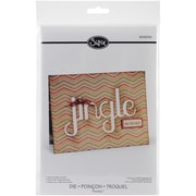 Sizzix® Thinlits Die, Card With Jingle Cut-Out