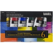"Reeves™ Liquitex® Heavy Body Acrylic Paint Classic Beginner Set, 6 1/4"" x 3 3/4"" x 1"", Multicolor"