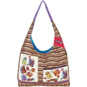 Laurel Burch® 18 x 3 x 13 TearDrop Scoop Tote Bag, Karly's Colorful Cats