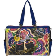 "Laurel Burch® 21"" x 8"" x 15"" Travel Bag, Carlotta's Cats"