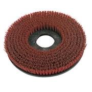 O-Cedar Commercial MaxiPlus 12'' Grit Rotary Scrub Brush; 14'' H x 14'' W x 2.5'' D