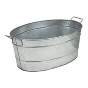 Minuteman Galvanized Steel Tub I; Galvanized Steel