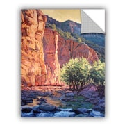 ArtWall The West Fork by Rick Kersten Art Appeelz Removable Wall Decal; 14'' H x 18'' W
