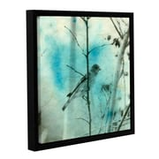 ArtWall Asain Bird by Elena Ray Gallery-Wrapped Floater-Framed Canvas; 36'' H x 36'' W x 2'' D