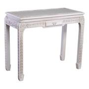 International Caravan Windsor Console Table; Antique White