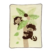 Bedtime Originals Curly Tails Warm and Cozy Blanket