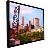 ArtWall Cleveland 10 by Cody York Framed Photographic Print; 16'' H x 24'' W x 2'' D