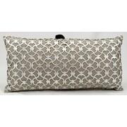 Nourison Laser Nourison Romantic Laser Cut Pillow; 12'' H x 24'' W