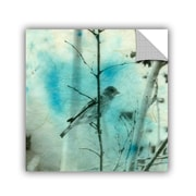 ArtWall Asain Bird by Elena Ray Art Appeelz Removable Wall Mural; 18'' H x 18'' W x 0.1'' D
