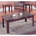 Hazelwood Home 3 Piece Coffee Table Set