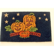 Geo Crafts Happy Halloween Doormat