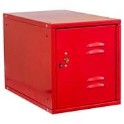 Hallowell Cubix 1 Tier 1 Wide Modular Locker w/ Louvered Door