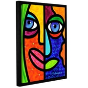 ArtWall Candy Dandee by Steven Scott Framed Graphic Art on Wrapped Canvas; 18'' H x 14'' W x 2'' D