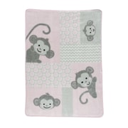 Bedtime Originals Pinkie Warm and Cozy Blanket