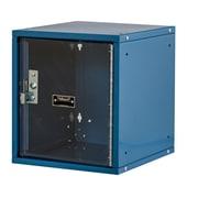 Hallowell Cubix 1 Tier 1 Wide Modular Locker; Marine Blue