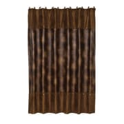 HiEnd Accents Leather Shower Curtain