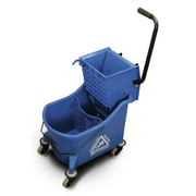 O-Cedar Commercial MaxiPlus Mop Bucket and Wringer; Blue