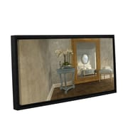 ArtWall Reflection by Cynthia Decker Framed Photographic Print on Wrapped Canvas; 12'' H x 24'' W