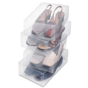 Whitmor, Inc Women's Shoe Box (Set of 4)