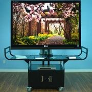 VTI Large Flat Panel AV Cart for 80'' Monitor