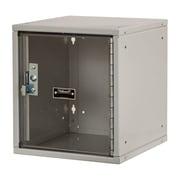 Hallowell Cubix 1 Tier 1 Wide Safety Locker; Platinum