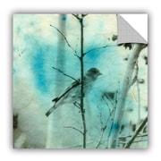 ArtWall Bird Nest by Elena Ray Art Appeelz Removable Wall Mural; 18'' H x 18'' W x 0.1'' D