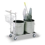 Royce Rolls #5 Series Double Bucket Mopping Unit; 8 Gal