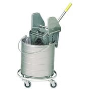Royce Rolls #4 Series Bucket Mopping Unit; 8 gal bucket/16-24 oz wringer