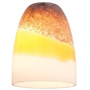 Access Lighting 4'' Manhattan Glass Bell Pendant Shade