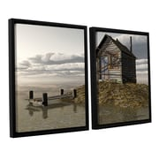 ArtWall Locked Out by Cynthia Decker 2 Piece Framed Photographic Print on Canvas Set