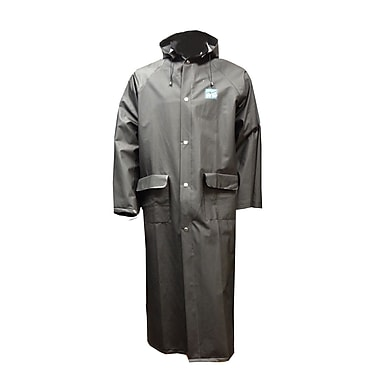 Open Road Light Duty Industrial Long Coat, 3X-Large, Black
