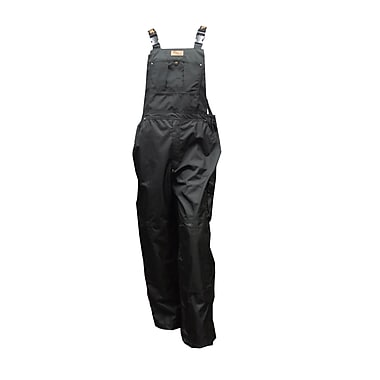 Viking Professional Thor 300D Trilobal Rip-Stop Bib Pant, Medium, Black