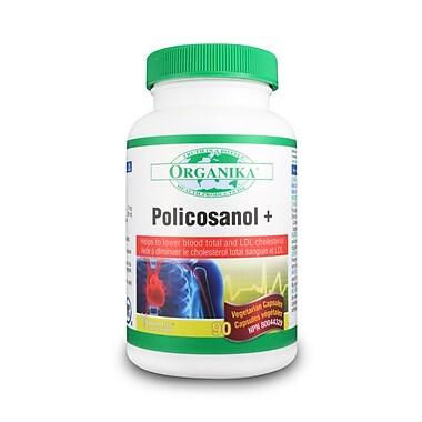 Organika® Policosanol Cholesterol Formulation) Vegetarian Capsules, 2 x 90/Pack