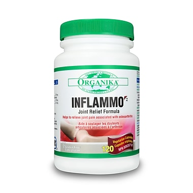 Organika® Inflammo Vegetarian Capsules, 3 x 120/Pack