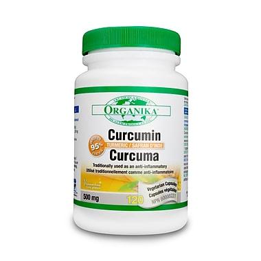 Organika® Curcumin Capsules, 2 x 120/Pack