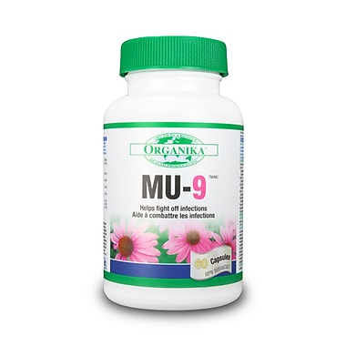 Organika® Mu-9 Capsules, 3 x 60/Pack