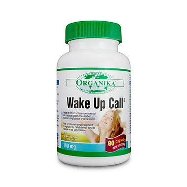 Organika® Wake Up Call Capsules, 6 x 90/Pack