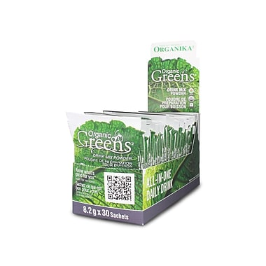 Organika® Organic Greens Certified Powder, 8g x 30 Sachets/Pack