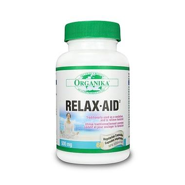 Organika® Relax-Aid (Hops) Vegetarian Capsules, 3 x 60/Pack