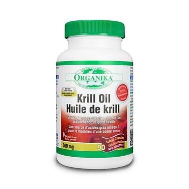 Organika® Krill Oil Softgels, 90/Pack