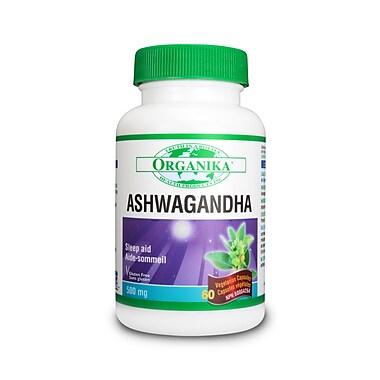 Organika® Ashwaganda Vegetarian Capsules, 2 x 60/Pack