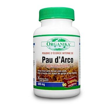 Organika® Pau D-Arco Capsules, 6 x 90/Pack