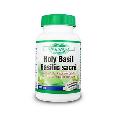 Organika® Holy Basil Vegetarian Capsules, 2 x 60/Pack