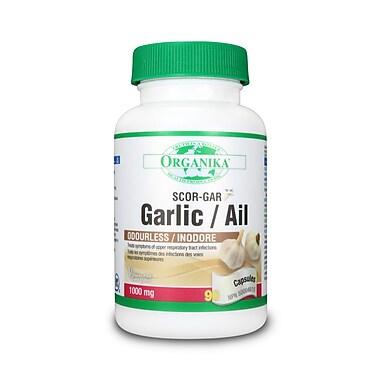 Organika® Garlic Scor-gar Capsules, 2 x 180/Pack
