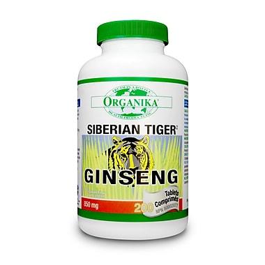 Organika® Ginseng Siberian Tiger Tablets, 3 x 100/Pack